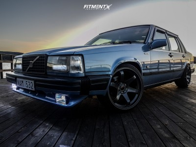 1988 Volvo 740 - 18x10 40mm - Japan Racing JR3 - Coilovers - 225/35R18