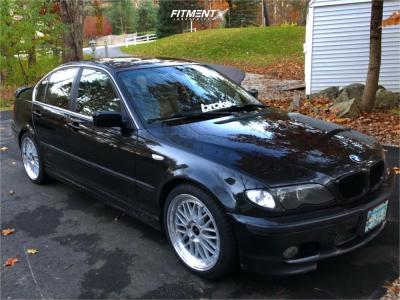 2004 BMW 330xi - 18x8 34mm - JNC JNC005 - Coilovers - 225/40R18