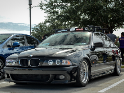 2000 BMW 528i - 17x8 35mm - BBS Rc090 - Coilovers - 235/45R17
