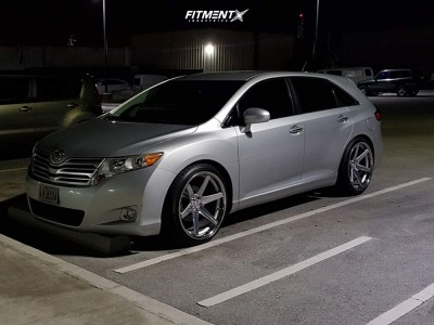 2011 Toyota Venza - 22x10.5 25mm - Concept One Cs-6 - Coilovers - 265/35R22