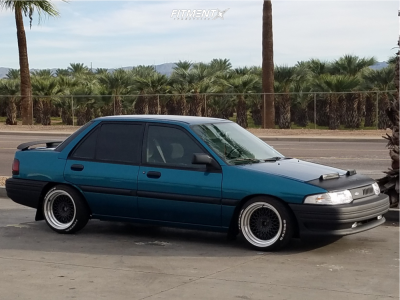 1995 Ford Escort - 16x8.5 0mm - NS MDV2 - Coilovers - 195/40R16