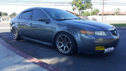 2004 Acura TL - 17x9.5 15mm - Mb Wheels Battle - Coilovers - 235/40R17