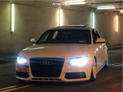 2011 Audi A4 Quattro - 19x8.5 25mm - Niche Citrine - Air Suspension - 235/35R19