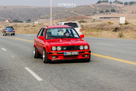 1991 BMW 318is - 15x8.5 15mm - AME Fzero2 - Coilovers - 205/50R15