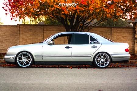 1998 Mercedes-Benz E430 - 19x8.5 35mm - Rotiform Kps - Lowering Springs - 225/35R19