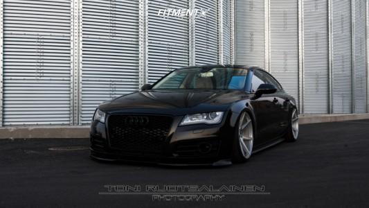 2012 Audi A7 Quattro - 20x11 30mm - Japan Racing Jr20 - Air Suspension - 275/30R20