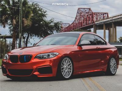 2015 BMW M235i - 18x8.5 35mm - Rotiform Rse - Coilovers - 245/30R18