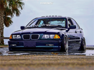 2001 BMW 325i - 17x10 20mm - BBS Rc090 - Coilovers - 195/45R17