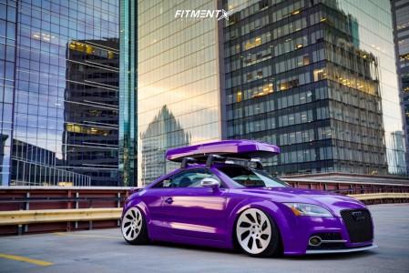 2009 Audi TT Quattro - 19x10 32mm - Rotiform WRW - Air Suspension - 235/35R19