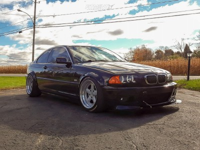 2001 BMW 325Ci - 17x9.5 0mm - Ac Schnitzer Type 1 - Coilovers - 225/45R17