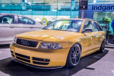 1997 Audi A4 - 18x8.5 32mm - BBS RK 501 - Coilovers - 215/40R18