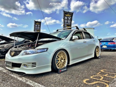 2006 Acura TSX - 18x8.5 22mm - Work VS XX - Coilovers - 225/35R18