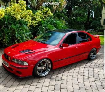 2003 BMW 525i - 19x9.5 22mm - ESR SR04 - Coilovers - 235/35R19