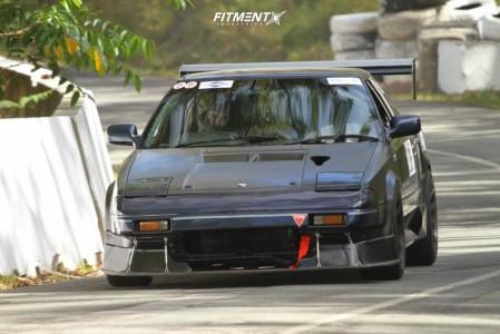 1989 Toyota MR2 - 15x8 25mm - Advanti Racing Storm S1 - Coilovers - 225/50R15