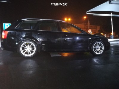 2003 Audi A4 - 17x8 35mm - Japan Racing Jr21 - Coilovers - 235/45R17
