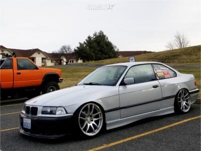 1996 BMW 328is - 18x9.5 35mm - ESR Sr08 - Coilovers - 215/35R18