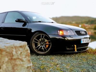 2001 Audi A3 Quattro - 18x8 35mm - Enkei SC24 - Coilovers - 225/40R18