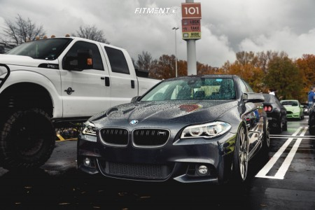 2014 BMW 535i - 21x10 38mm - BBS Ch-r - Coilovers - 235/35R21