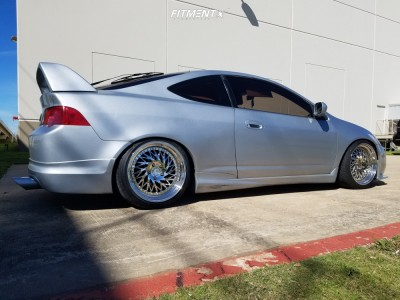 2002 Acura RSX - 18x9.5 15mm - Aodhan Ds03 - Coilovers - 215/40R18