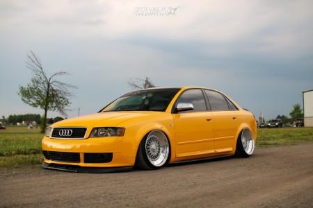 2005 Audi A4 - 18x10.5 16mm - BBS Rs - Air Suspension - 215/35R18
