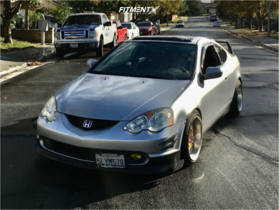 2002 Acura RSX - 17x9 23mm - BBS Lm - Coilovers - 215/25R17