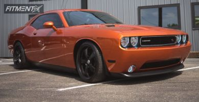 2011 Dodge Challenger - 20x9 10mm - Mickey Thompson Sc-5 - Lowered on Springs - 245/35R20