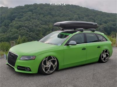 2009 Audi A4 Quattro - 20x10 42mm - Radi8 R8s5 - Air Suspension - 235/45R20