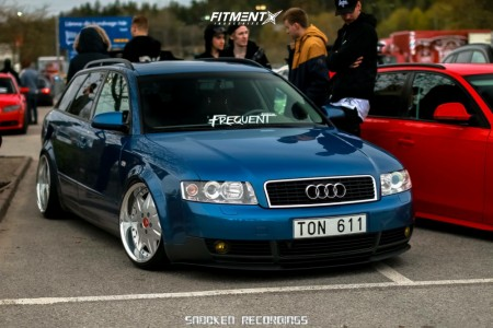 2003 Audi A4 - 18x9 26mm - Work Ls207 - Coilovers - 215/35R18