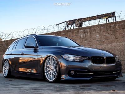2017 BMW 330i xDrive - 19x8.5 35mm - Rotiform Rse - Air Suspension - 235/35R19
