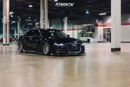 2011 Audi A4 - 18x9.5 40mm - 3SDM 0.04 - Air Suspension - 205/40R18