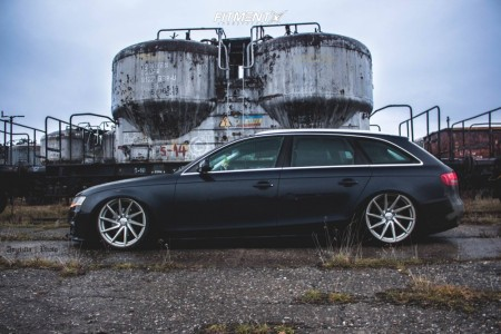 2010 Audi A4 - 19x9 35mm - Vossen CVT - Air Suspension - 215/35R19