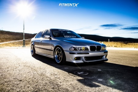 2001 BMW 530i - 18x9 25mm - Cosmis Racing Xt-005r - Coilovers - 255/40R18
