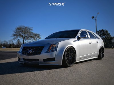 2010 Cadillac CTS - 20x9 30mm - Niche Vicenza - Coilovers - 255/30R20