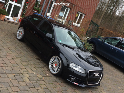 2010 Audi A3 - 19x8.5 45mm - Rotiform Ind - Coilovers - 215/35R19