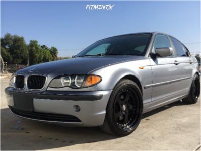 2003 BMW 3 Series - 18x8.5 30mm - ESR Sr02 - Stock Suspension - 225/40R18