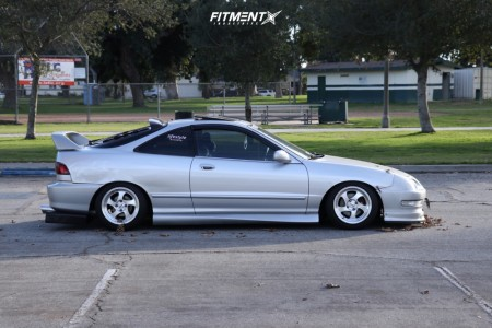 2000 Acura Integra - 15x8 17mm - Whistler Kr1 - Coilovers - 195/50R15
