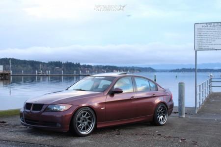 2006 BMW 325i - 19x9.5 22mm - Zedd Slt - Lowering Springs - 235/35R19