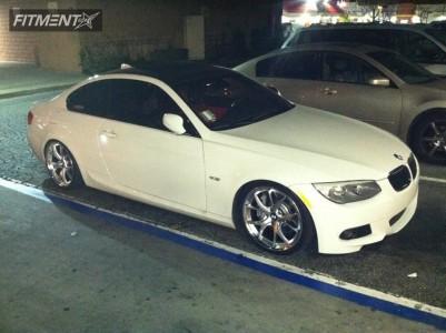 2011 BMW M3 - 19x8.5 32mm - MRR RW6 - Lowered Adj Coil Overs - 235/35R19