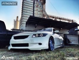 2009 Honda Accord - 20x10 40mm - Concept One RS-22 - Lowered Adj Coil Overs - 255/35R20