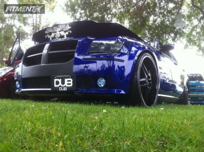 2007 Dodge Magnum - 24x9 25mm - DUB Dirty Doggs - Lowered Adj Coil Overs - 275/25R24