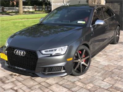 2018 Audi S4 - 19x8.5 35mm - Niche Verona - Stock Suspension - 245/35R19