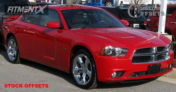2011 Dodge Charger - 20x8 24mm - Stock Stock - Stock Suspension - 245/45R20