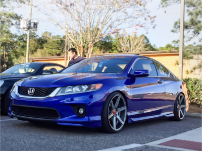 2014 Honda Accord - 20x10 40mm - Sothis Sc002 - Coilovers - 225/35R20