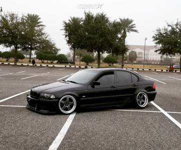 1999 BMW 323i - 18x9 25mm - Cosmis Racing Xt-005r - Coilovers - 225/35R18