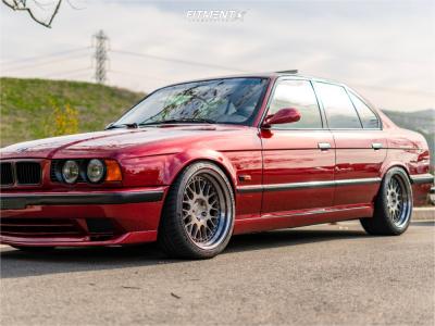 1995 BMW 540i - 18x9 8mm - Rotiform Lvs - Coilovers - 255/35R18