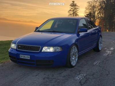 1998 Audi S4 - 19x8.5 35mm - Rotiform Blq - Coilovers - 245/35R19