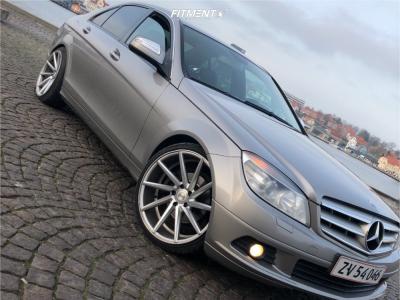 2009 Mercedes-Benz C230 - 19x8.5 38mm - Vossen Cvt - Lowering Springs - 215/35R19