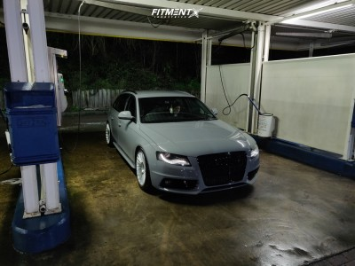 2008 Audi A4 - 19x8.5 45mm - Rotiform Ind-t - Coilovers - 255/35R19