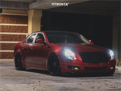 2009 Cadillac CTS - 20x10 35mm - XO Athens - Coilovers - 255/20R20