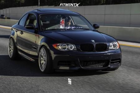 2009 BMW 135i - 18x9.5 35mm - Rotiform Rse - Air Suspension - 215/40R18